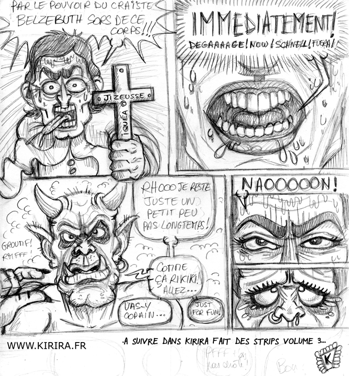 exorciste 2 crayonné blog