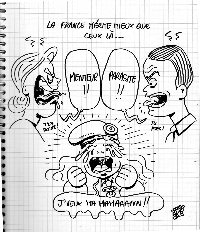 debat Macron le pen