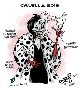 Inktober #11 «cruel»