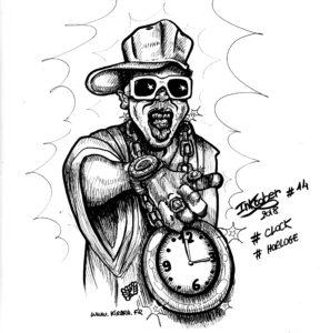 #Inktober 14 «Horloge»