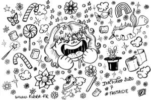 #inktober2020#7#fantaisie